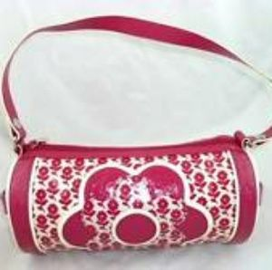 🌼New rare Vera Bradley pink Twirly Birds purse